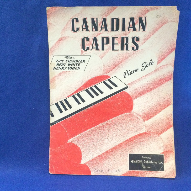 CANADIAN CAPERS Piano Solo