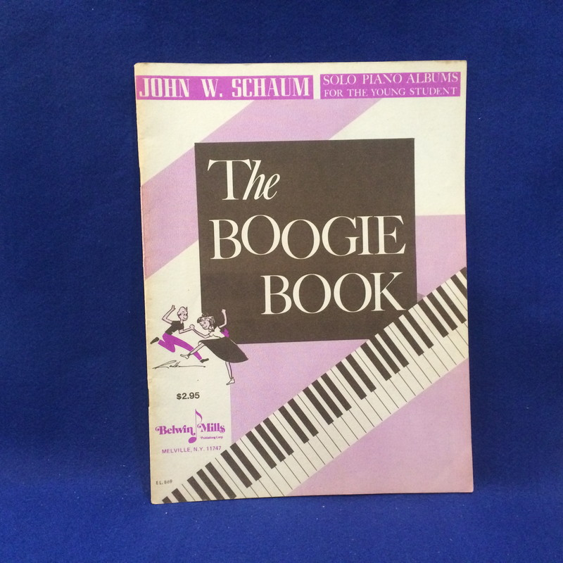 THE BOOGIE BOOK SOLO PIANO ALBUMS FOR THE YOUNG STUDENT