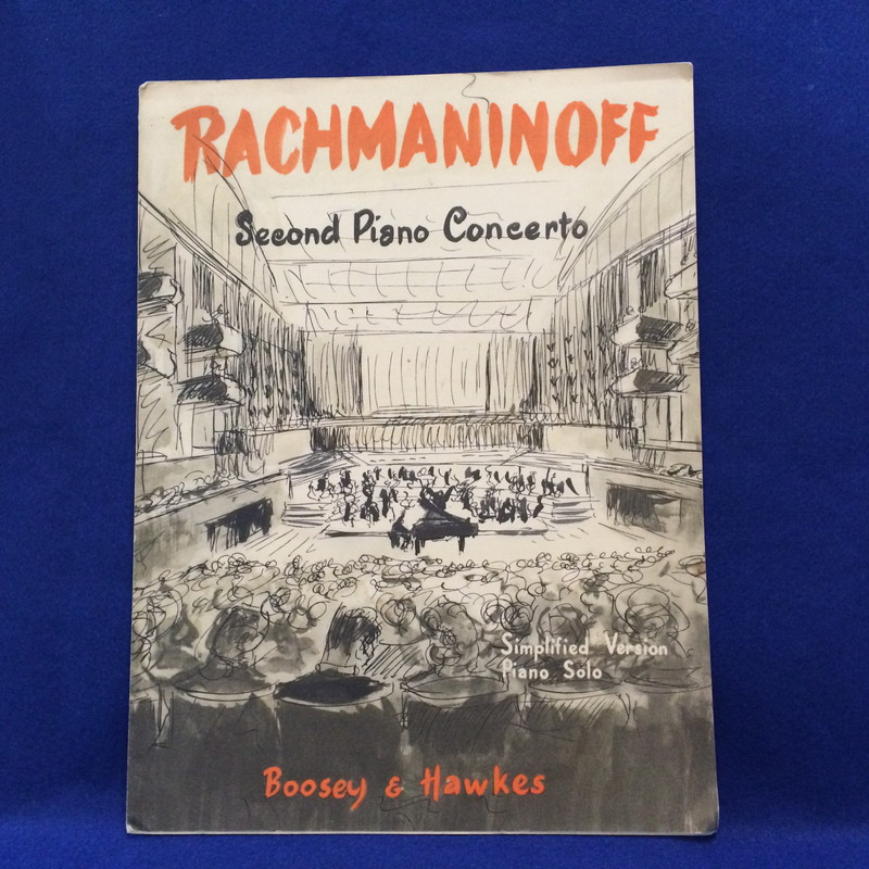 RACHMANINOFF Second Piano Concerto