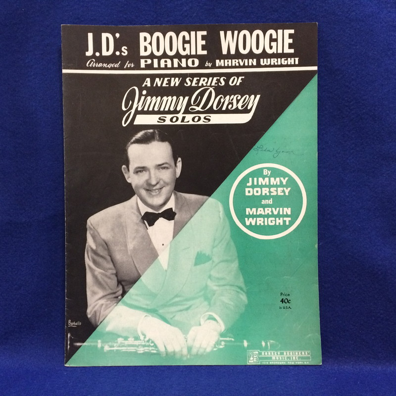 J.D.'s BOOGIE WOOGIE Arranged for Piano