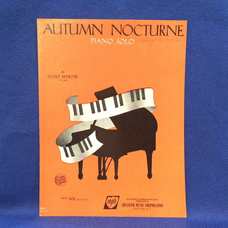 AUTUMN NOCTURNE Piano Solo
