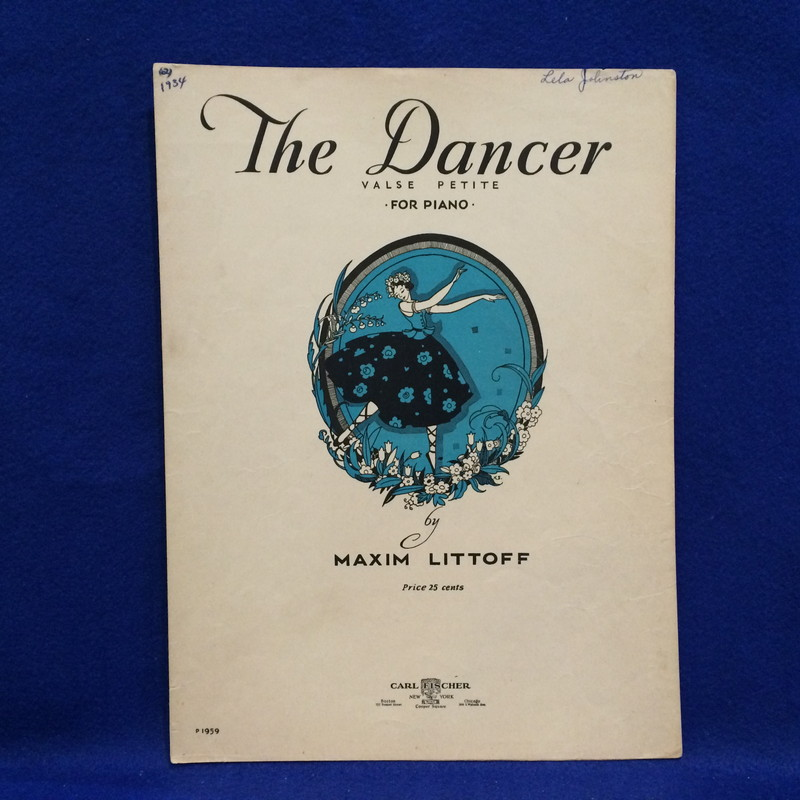 THE DANCER (VALSE PETITE) FOR PIANO