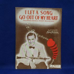 I LET A SONG GO OUT OF MY HEART