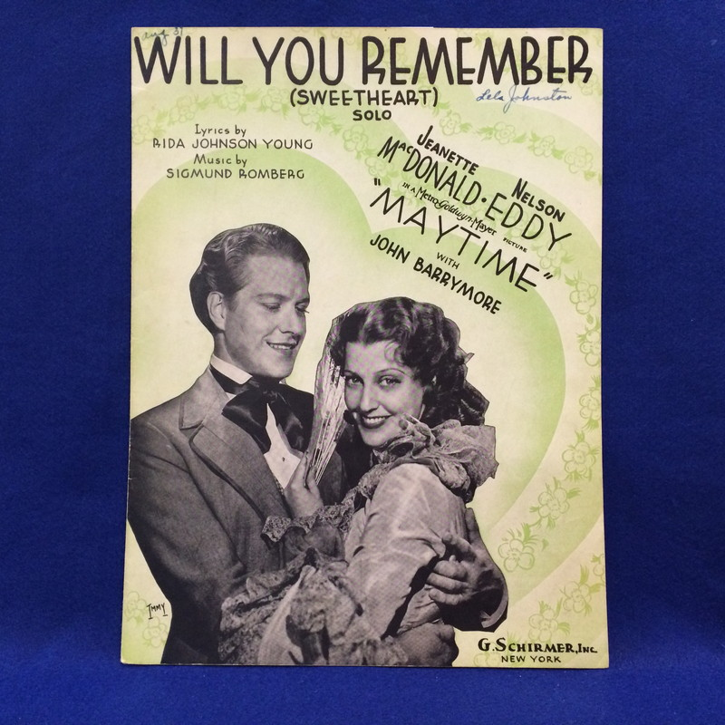 WILL YOU REMEMBER(SWEETHEART)