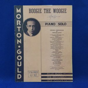 BOOGIE THE WOOGIE PIANO SOLO