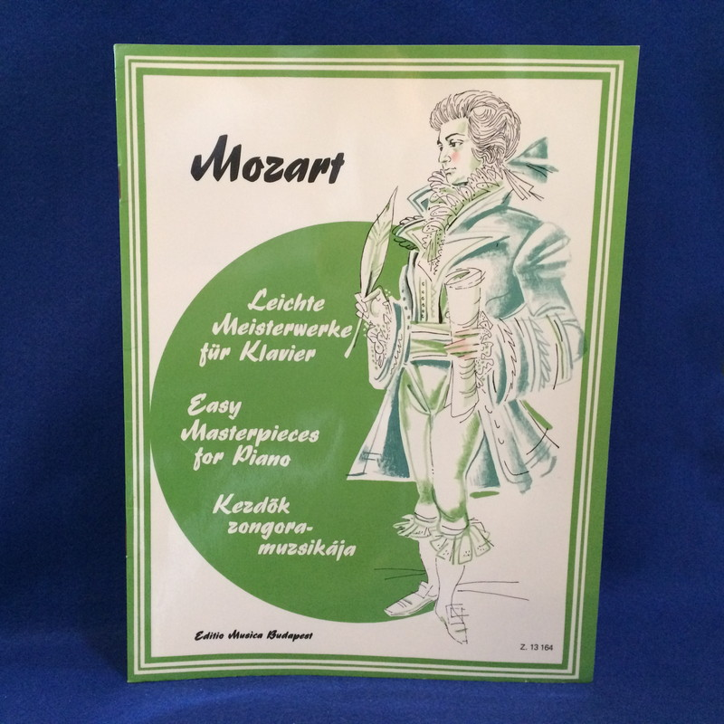 MOZART Easy Masterpieces for Piano