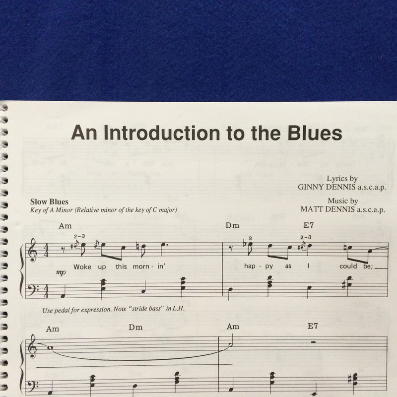 Creative Keyboard's Deluxe Blues Piano Solo Book
