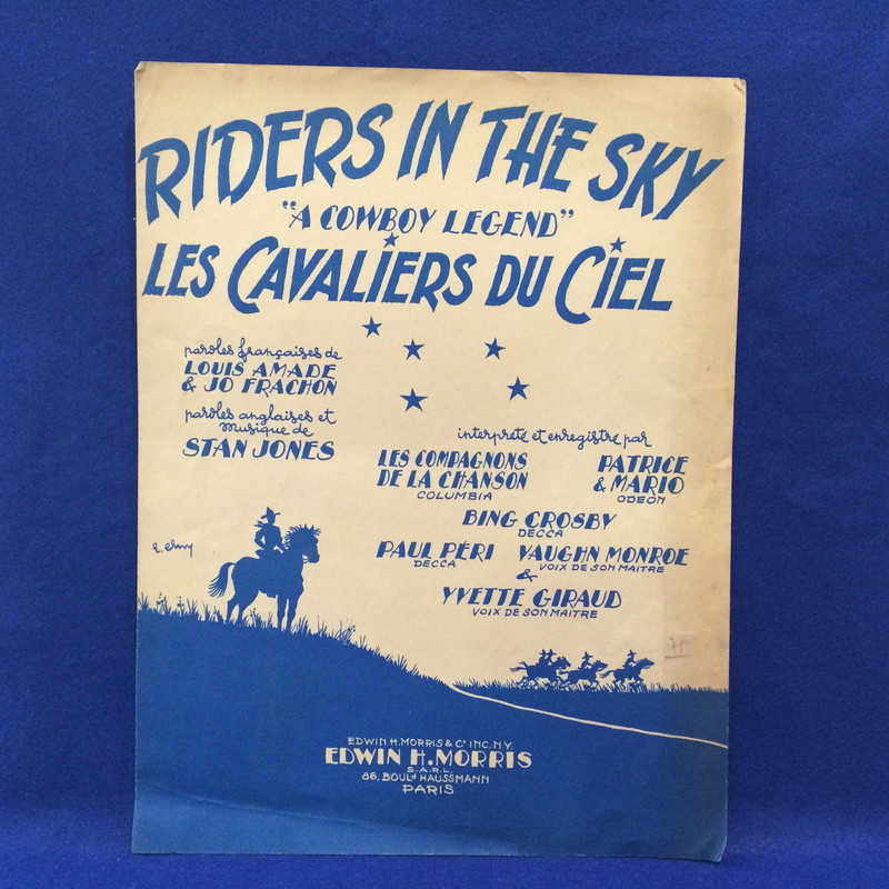 RIDERS IN THE SKY (A Cowboy LeLES CAVALIERS DU CIEL (La legende du Cow=Boy)