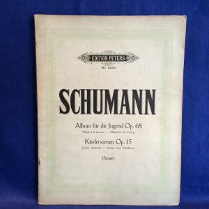 SCHUMANN Album for the Young Op.68, Scenes from Childhood Op.15