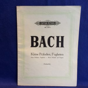 BACH Short Preludes and Fugues