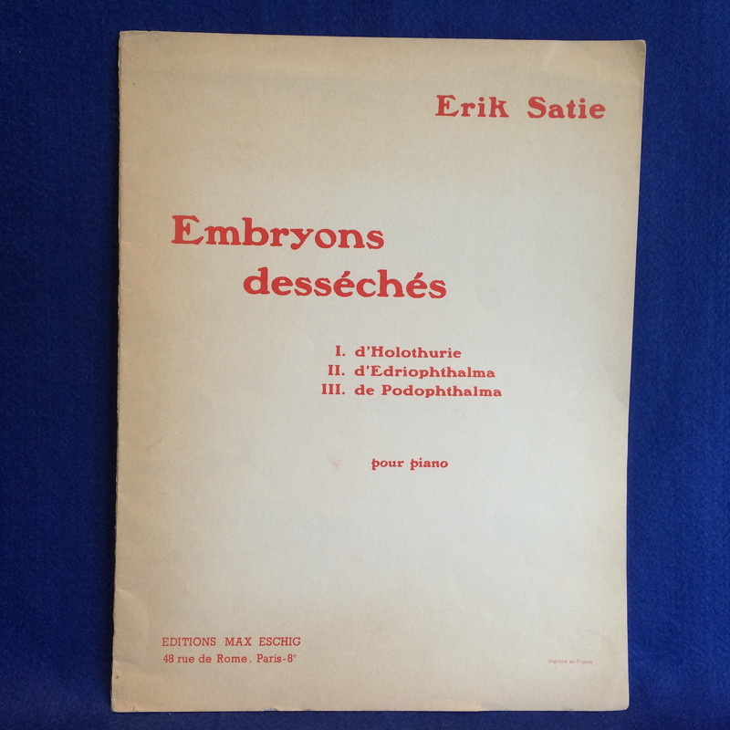 Embryons desseches