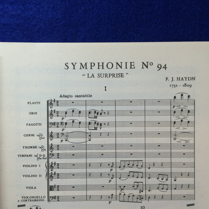 "HAYDN SYMPHONIE NO.94 ""LA SURPRISE"""