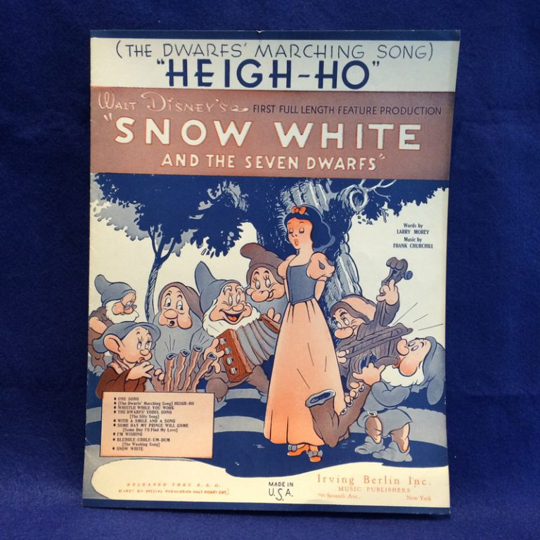 """HEIGH-HO"""" Snow White and The Seven Dwarfs"""