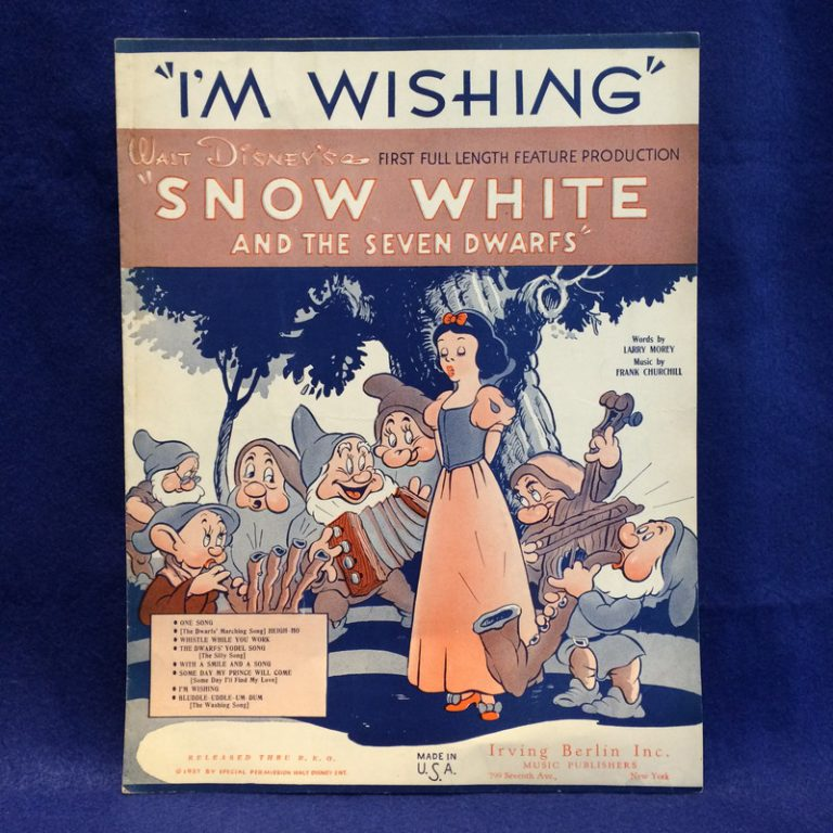 "I'm WISHING"" Snow White and The Seven Dwarfs"