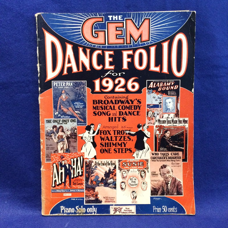 The GEM Dance Folio for 1926