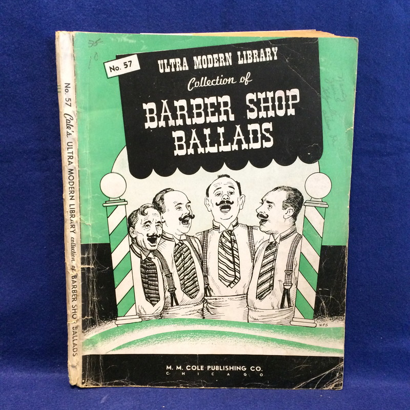 Ultra Modern Library Collection of BARBER SHOP BALLADS