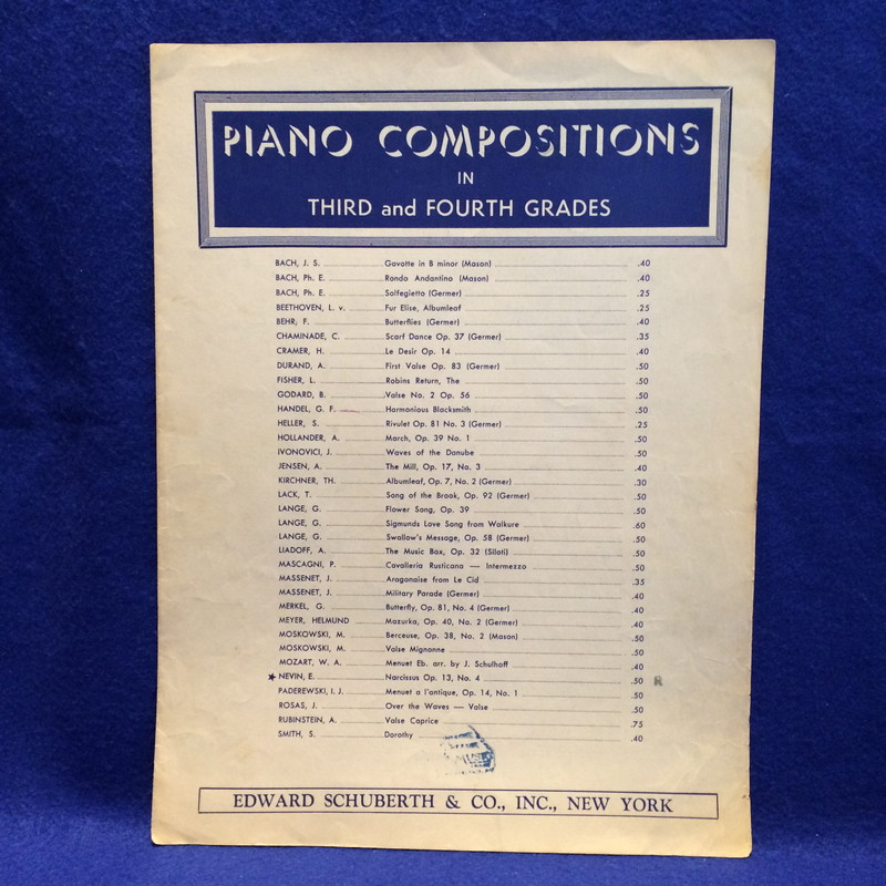 Piano Composition in Third and Fourth Grades