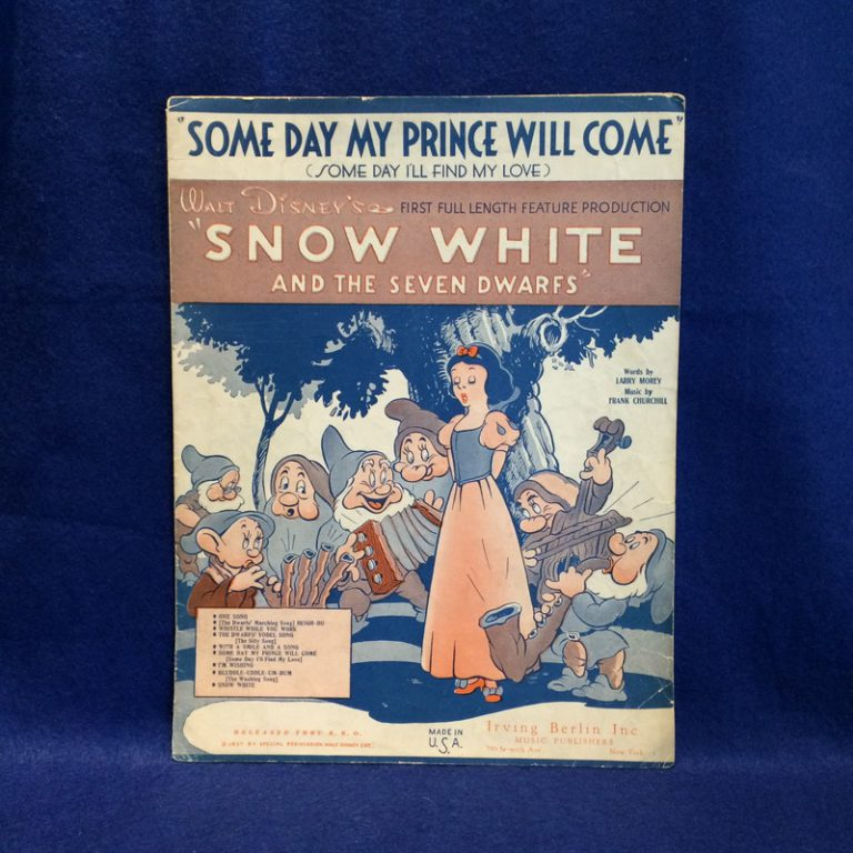 Some day My prince Will Come From Snow White and The Seven Dwarfs