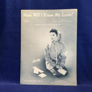 How Will I Know My Love?