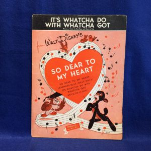 """It's Whatcha Do With Whatcha Got From """"So Dear To My Heart"""""""
