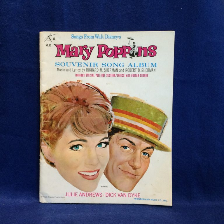 Songs From Walt Disney's Mary Poppins Souvenir Song Album
