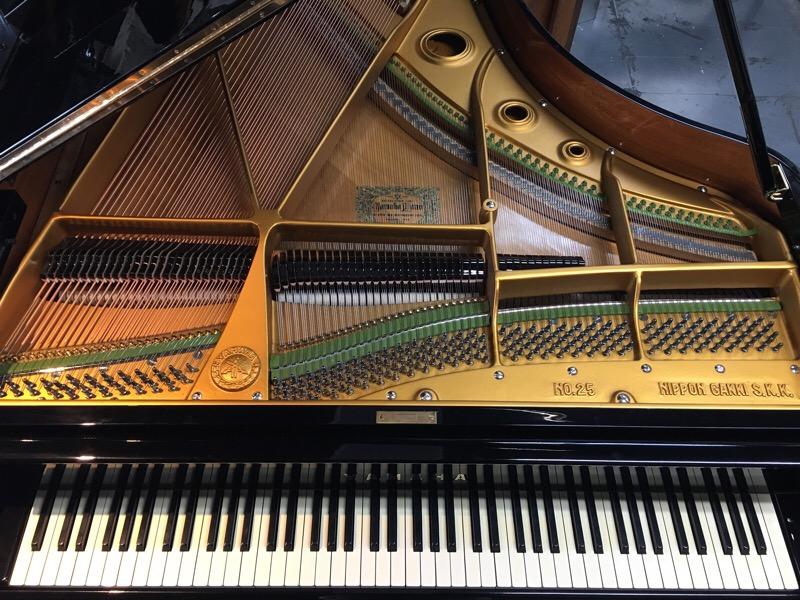 YAMAHAグランドピアノ オーバーホール