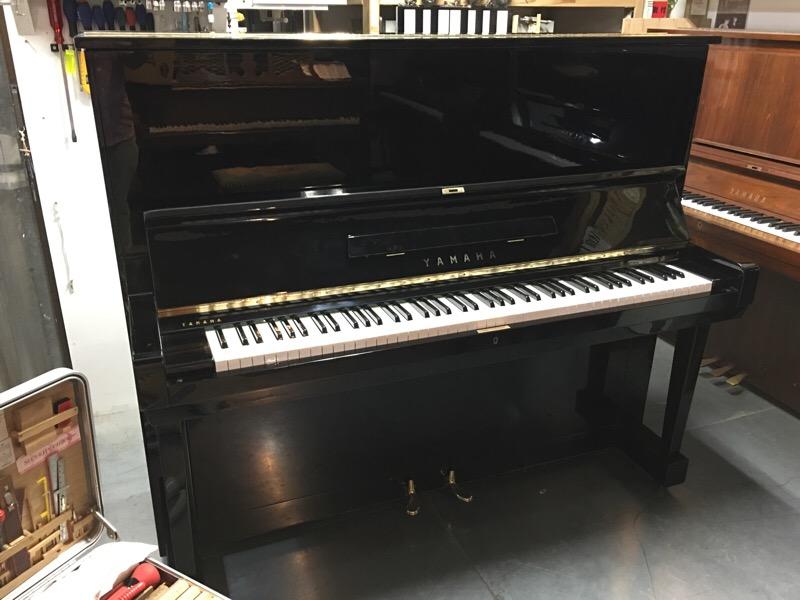 YAMAHAアップライトピアノ オーバーホール